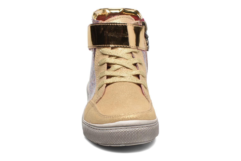 Sneaker Desigual Rask gold/bronze schuhe getragen