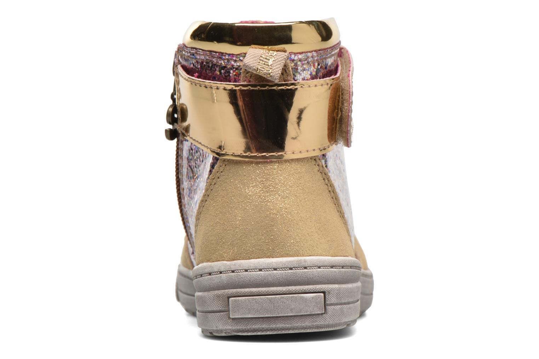 Sneaker Desigual Rask gold/bronze ansicht von rechts
