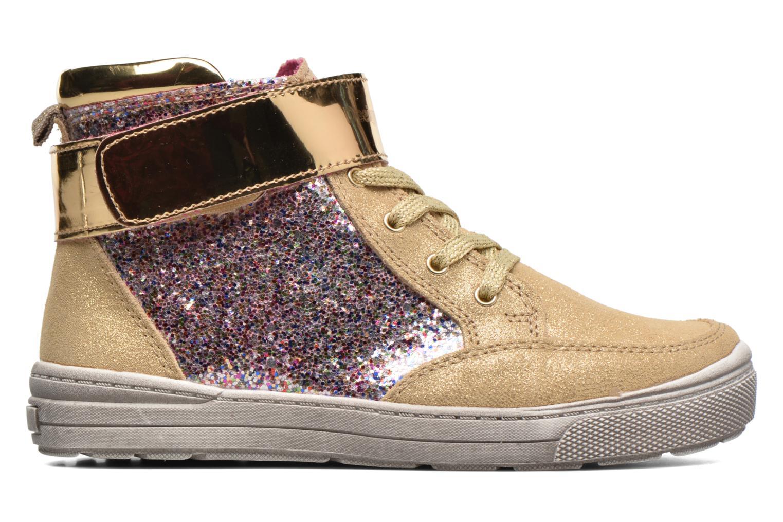Sneaker Desigual Rask gold/bronze ansicht von hinten