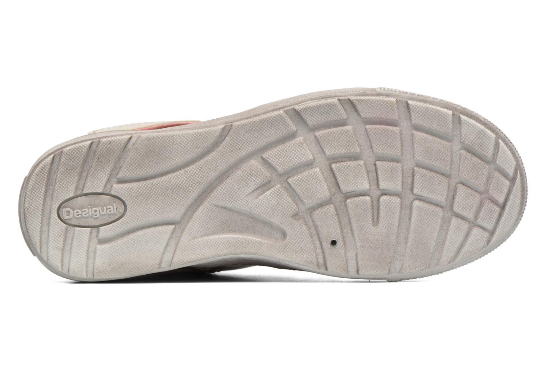 Sneaker Desigual Rask gold/bronze ansicht von oben