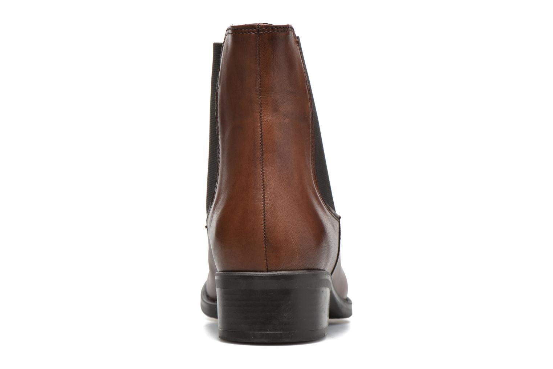 Bottines et boots Georgia Rose Abea Marron vue droite