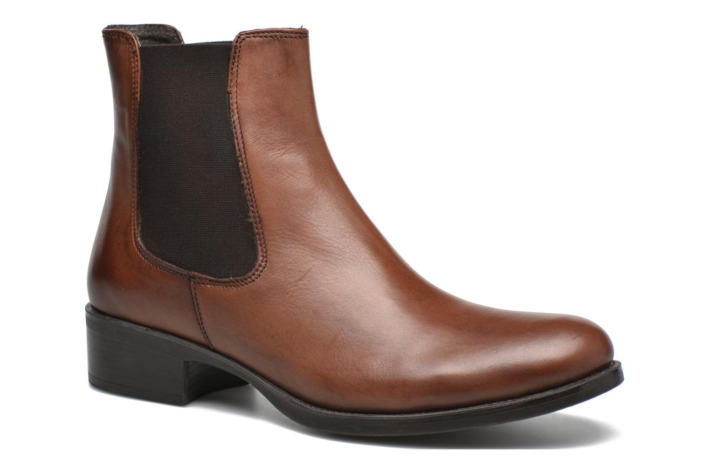 Bottines et boots Georgia Rose Abea Marron vue détail/paire