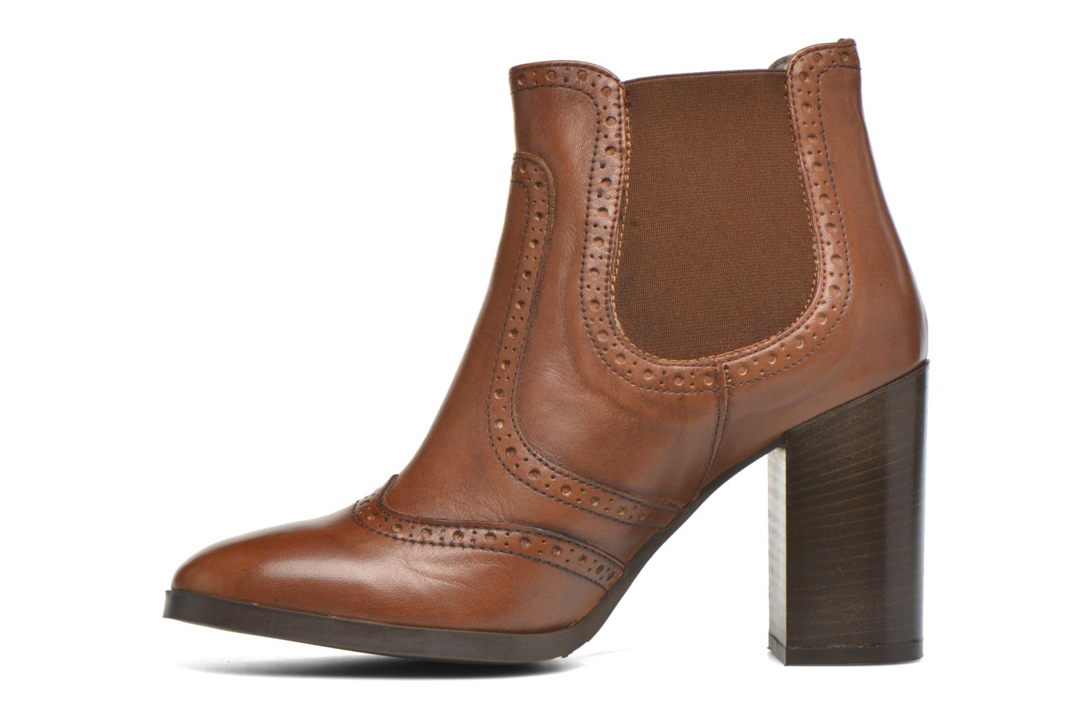 Ankle boots Georgia Rose Aberfo Brown front view