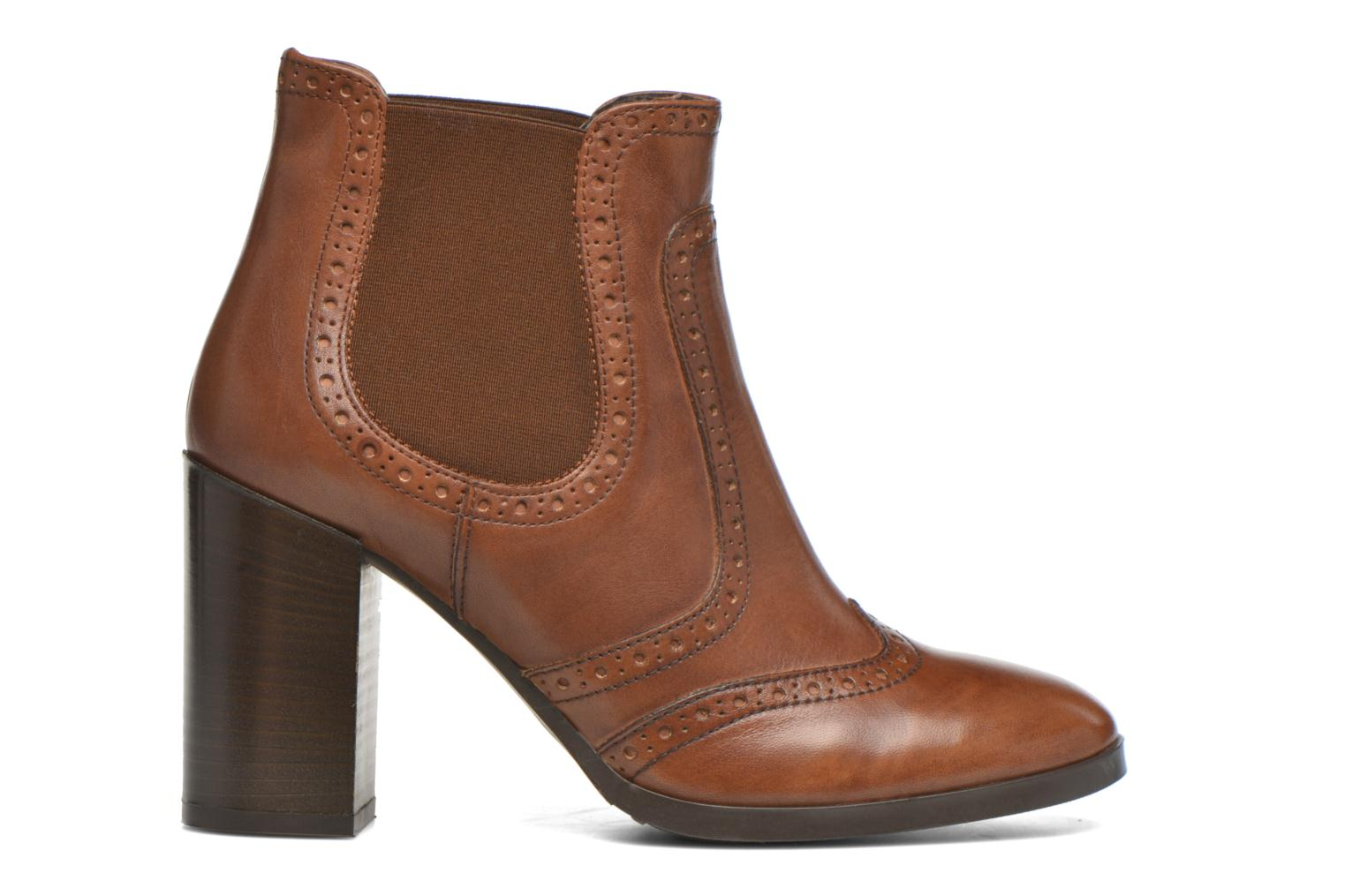 Ankle boots Georgia Rose Aberfo Brown back view