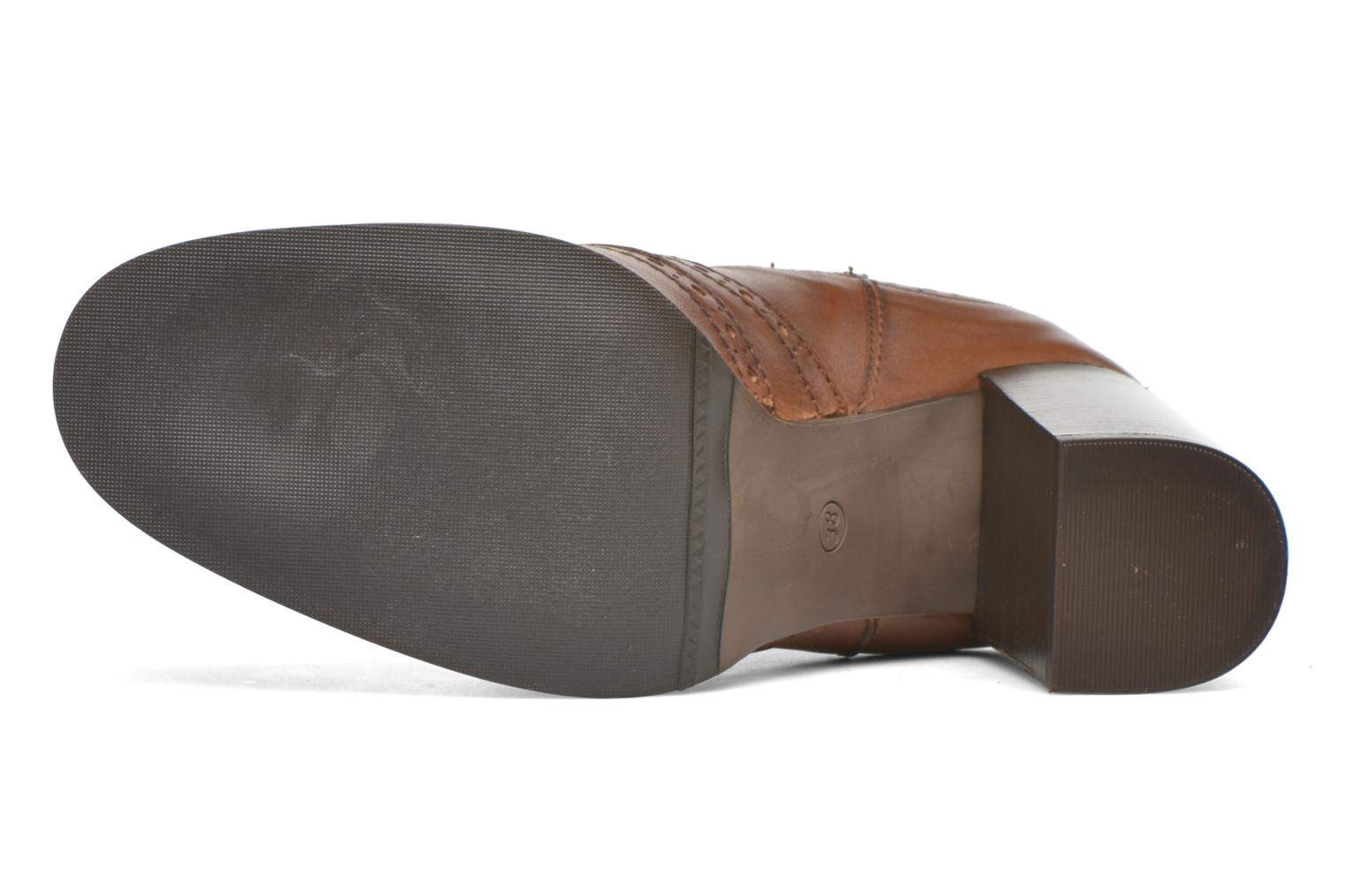Ankle boots Georgia Rose Aberfo Brown view from above
