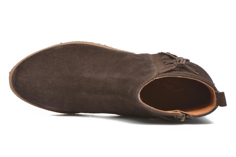 Stiefeletten & Boots Shwik Odeon Fringe braun ansicht von links