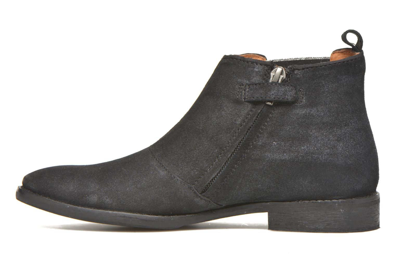 Stiefeletten & Boots Shwik Mia Brogue Zip schwarz ansicht von vorne
