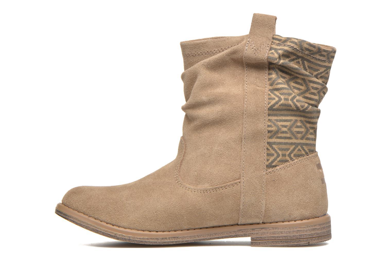 Bottines et boots TOMS Laurel Marron vue face