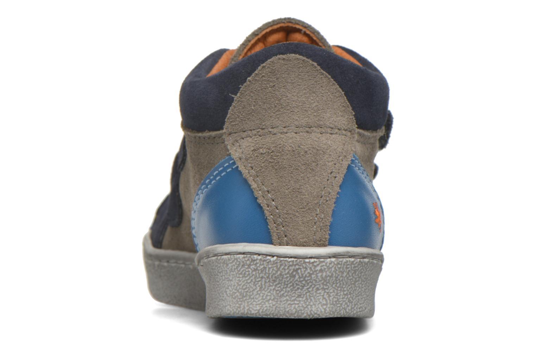 Sneaker Art A061 Split blau ansicht von rechts