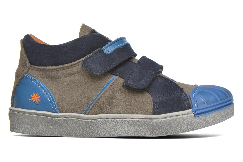 Sneaker Art A061 Split blau ansicht von hinten
