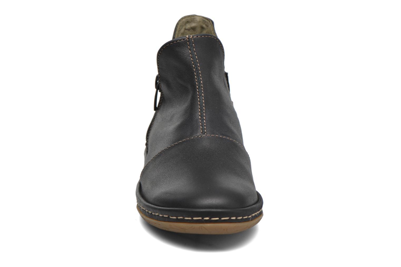 Bottines et boots El Naturalista E827 Nayade Noir vue portées chaussures