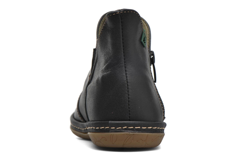 Bottines et boots El Naturalista E827 Nayade Noir vue droite