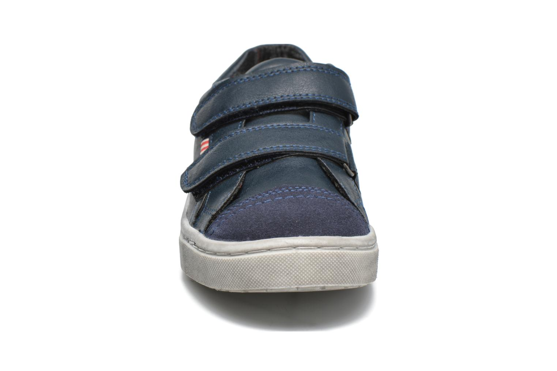 Sneakers I Love Shoes xEPHIDEE Azzurro modello indossato