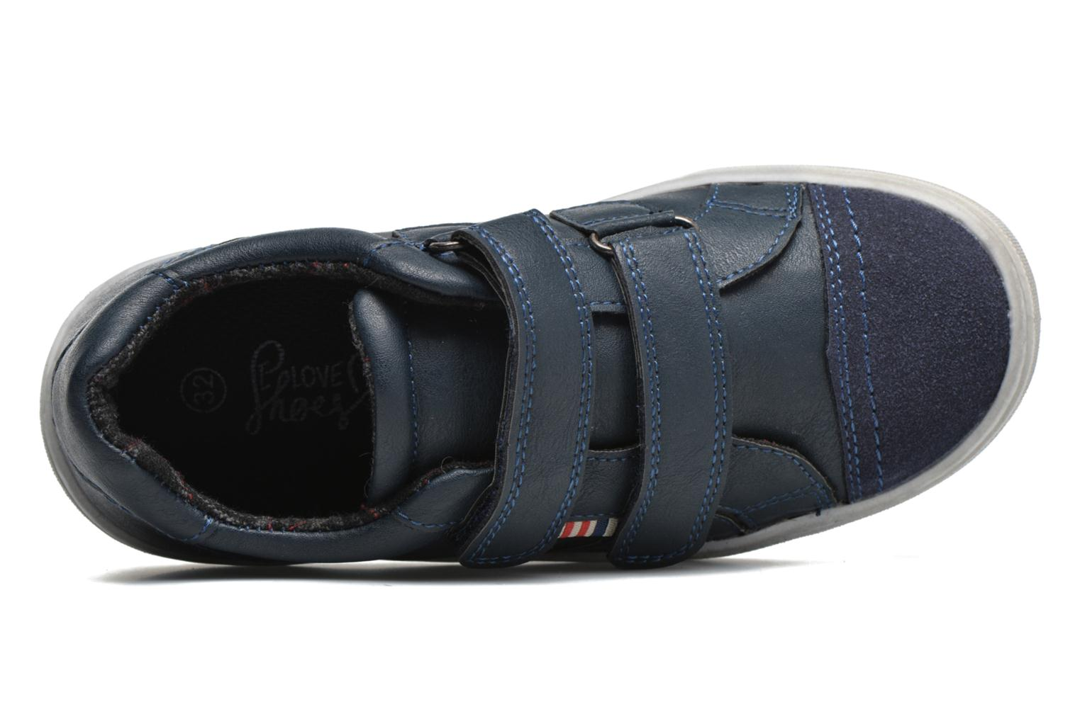 Sneaker I Love Shoes xEPHIDEE blau ansicht von links