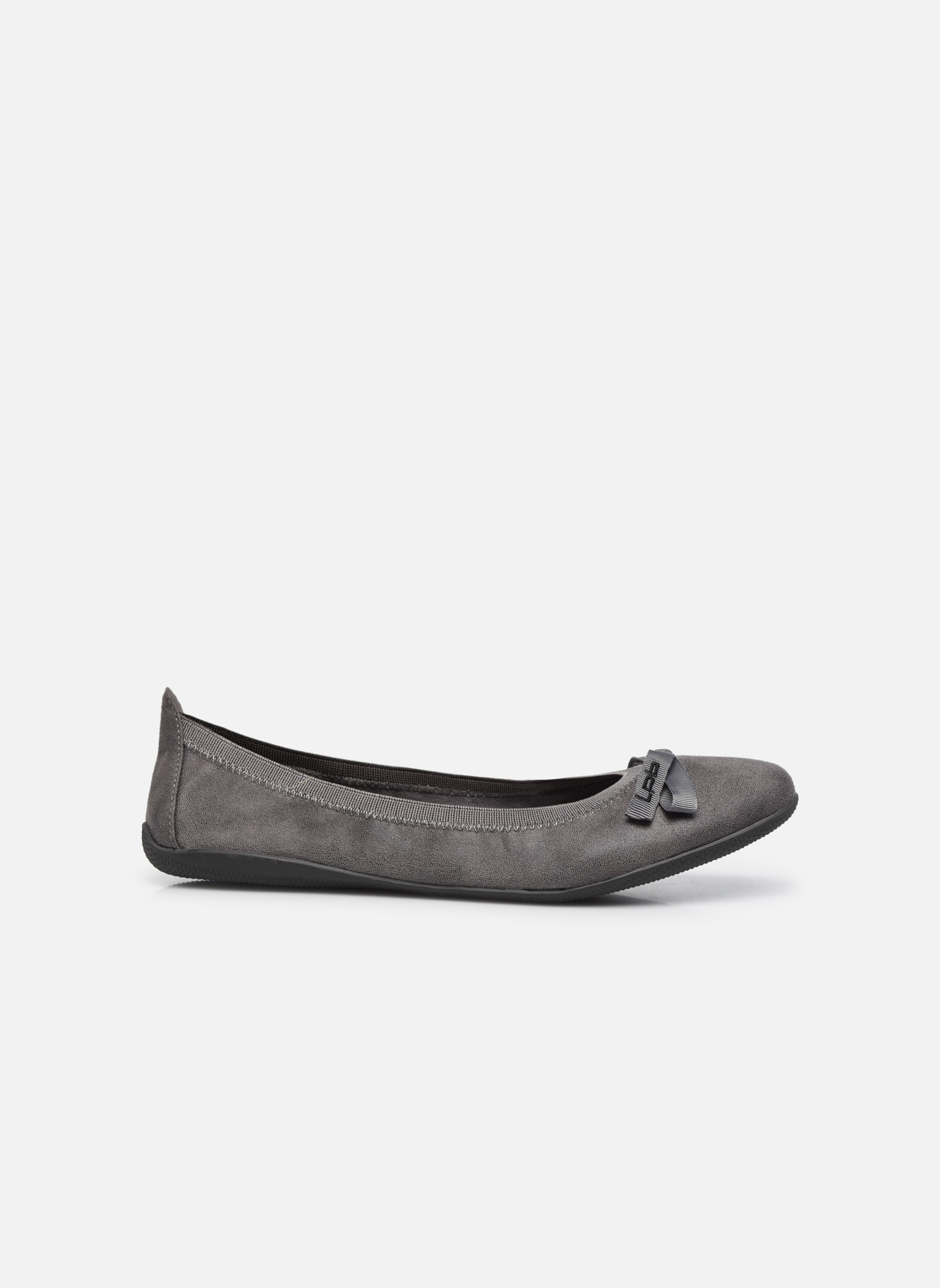 Ballet pumps Les P'tites Bombes Ella Grey back view
