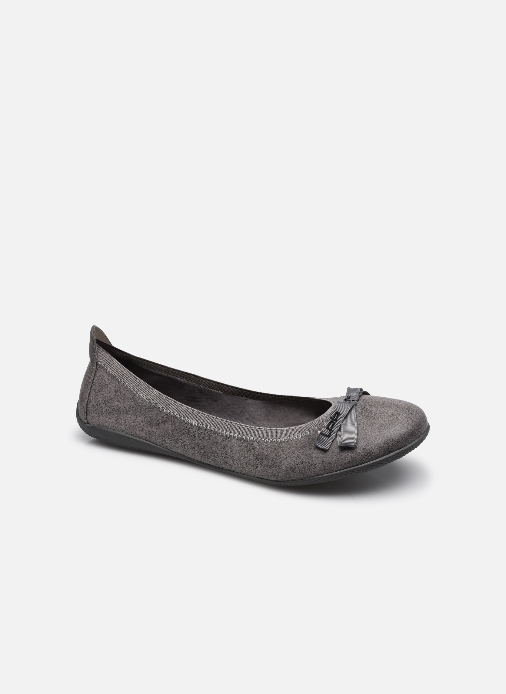 Ballet pumps Les P'tites Bombes Ella Grey detailed view/ Pair view