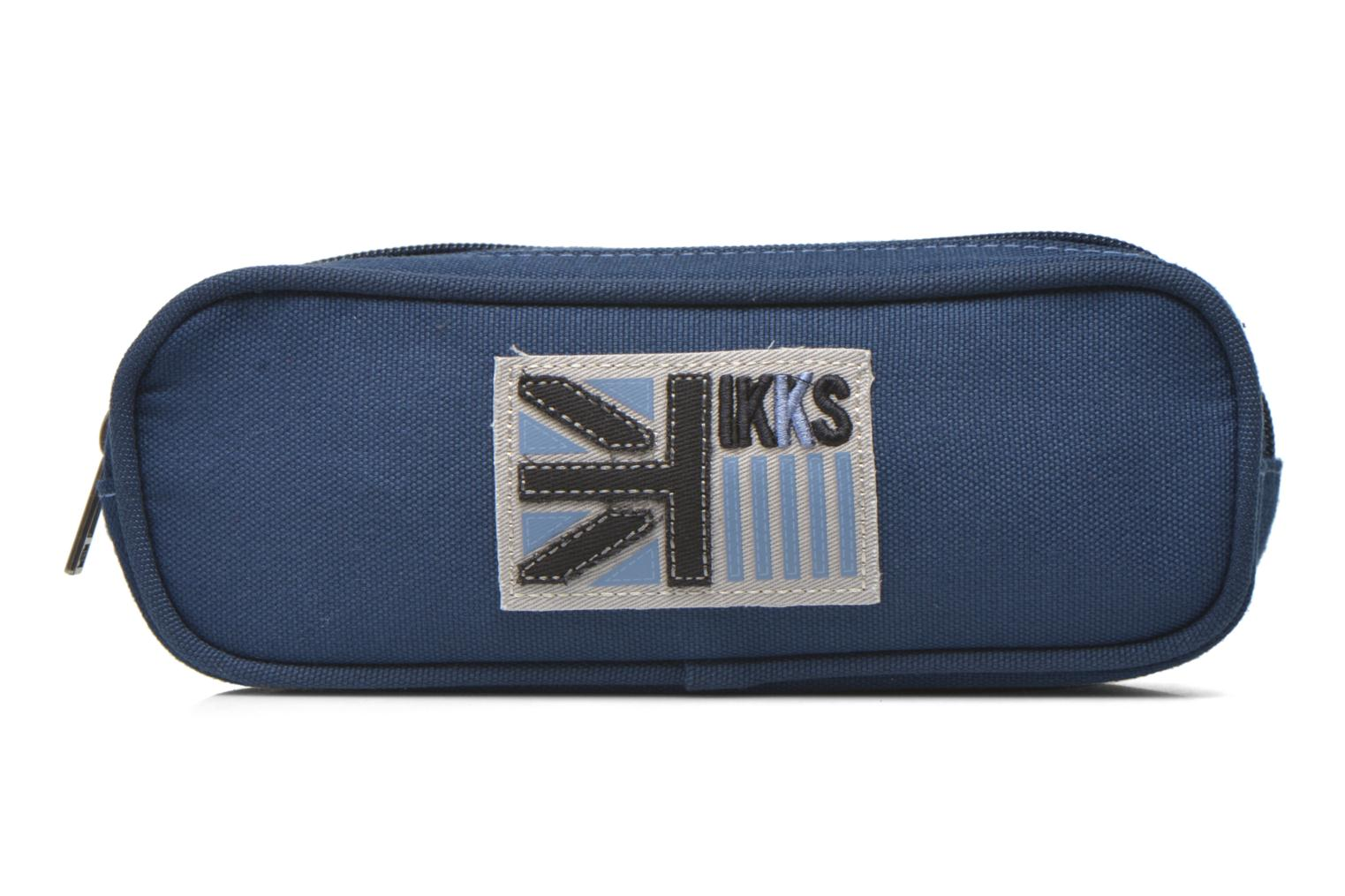 Trousse double UK Bleu