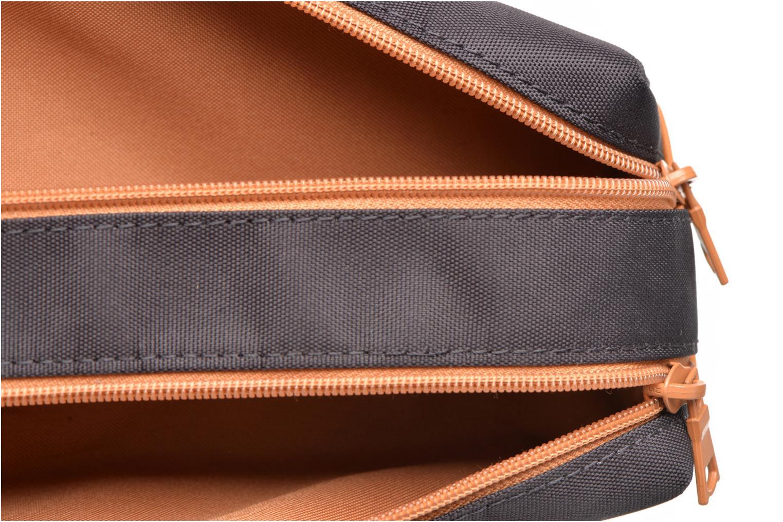 School bags Tann's Trousse double Baseball Grey back view