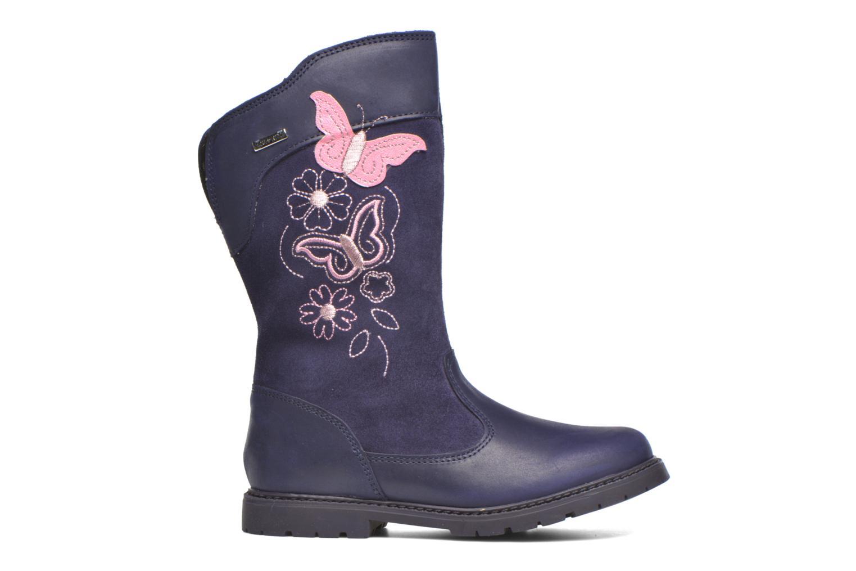 Aqua Butterfly Blue Ribbon leather