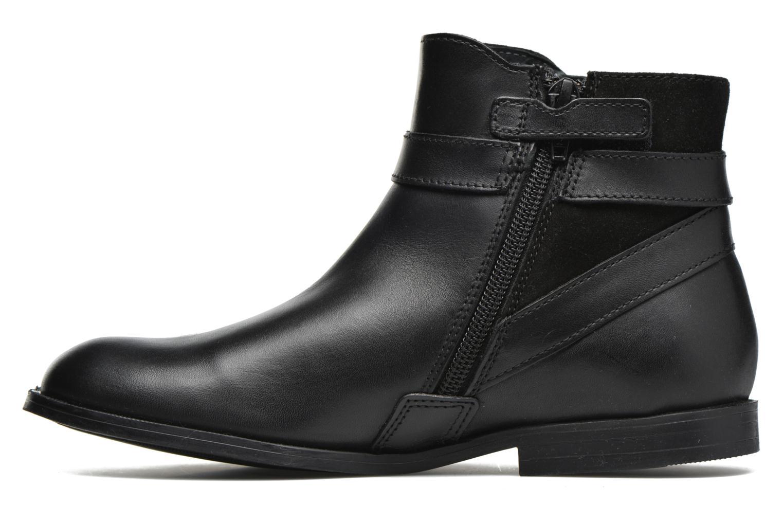 Imogen Black leather/suede