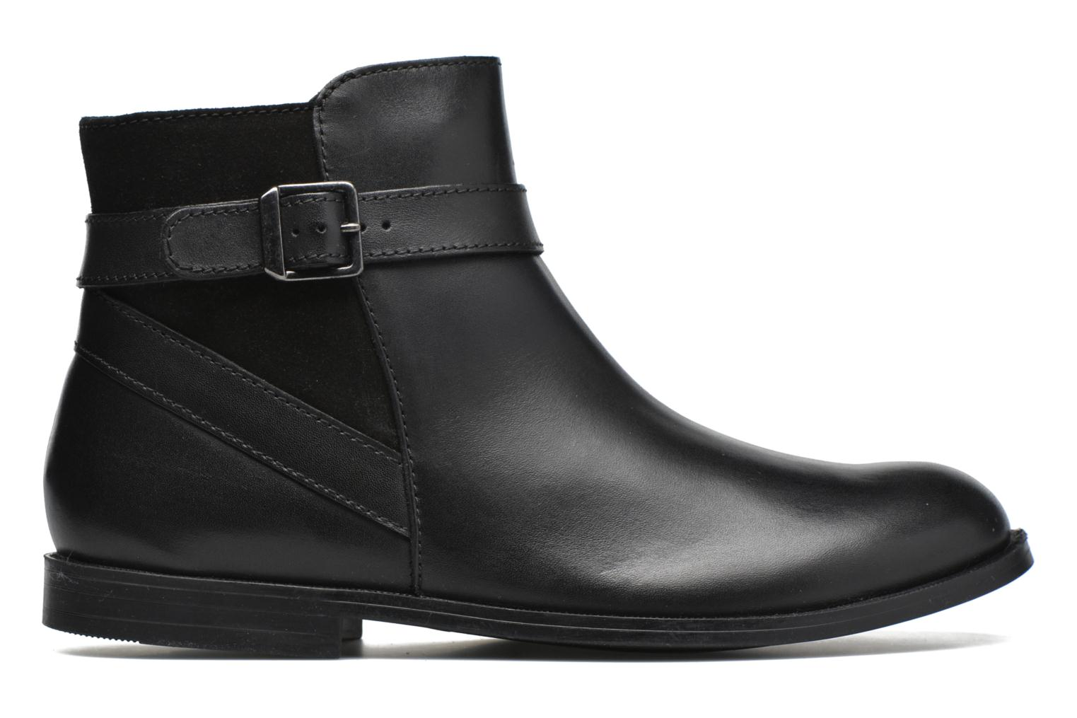 Imogen Black leather/suede