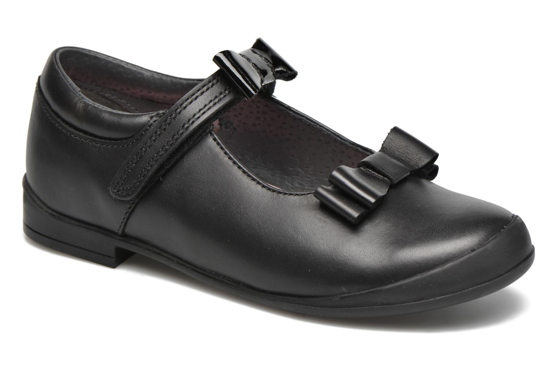 Pussycat Bow Black leather