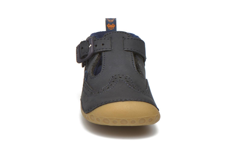 Pantofole Start Rite Harry Azzurro modello indossato