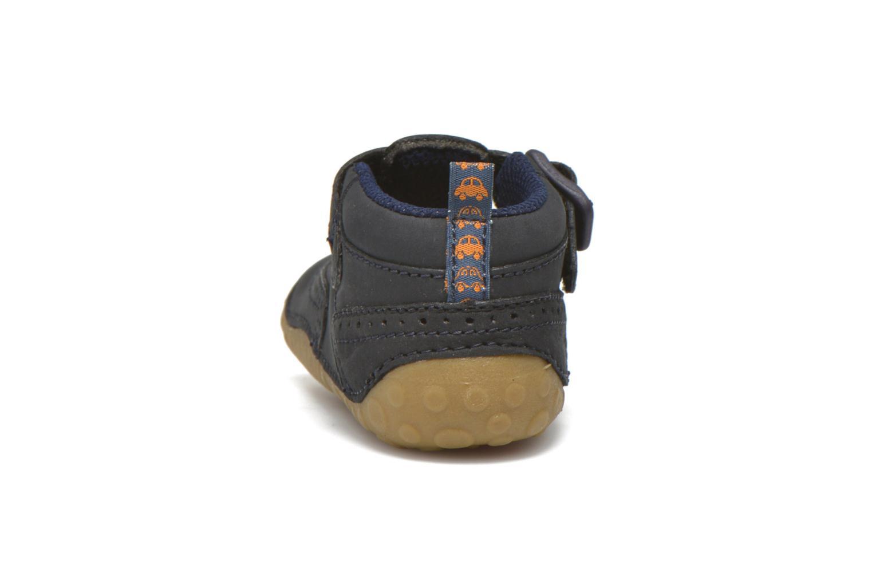 Pantofole Start Rite Harry Azzurro immagine destra
