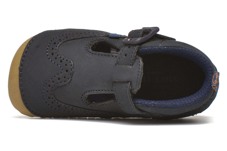 Pantofole Start Rite Harry Azzurro immagine sinistra