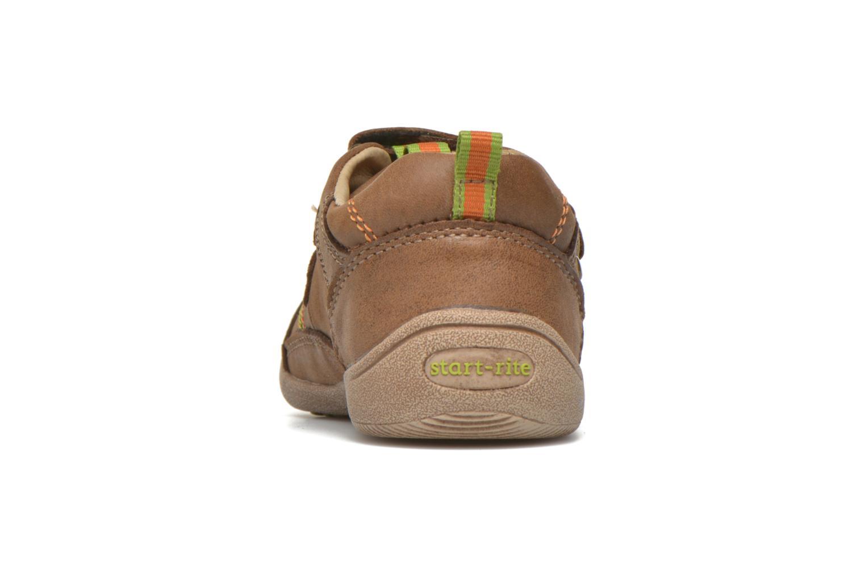 Chaussures à scratch Start Rite Leo Marron vue droite