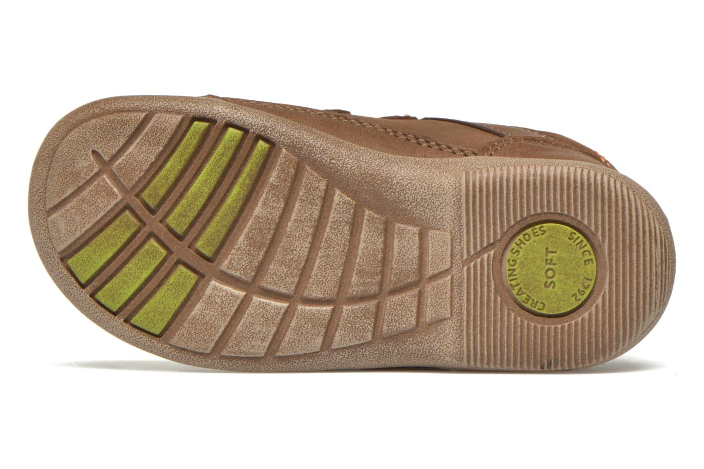 Chaussures à scratch Start Rite Leo Marron vue haut