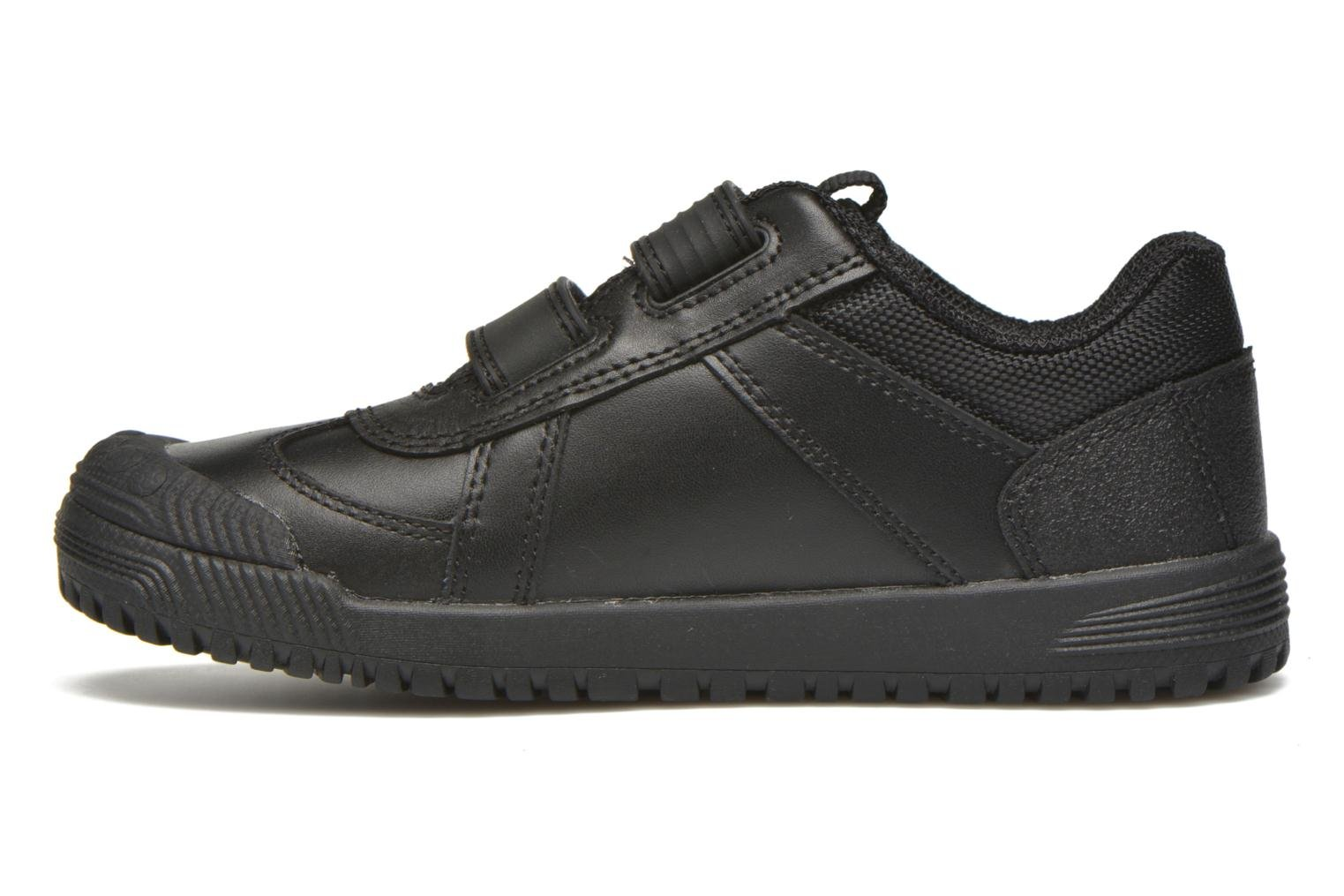 Zapatos con velcro Start Rite Cup Final Negro vista de frente