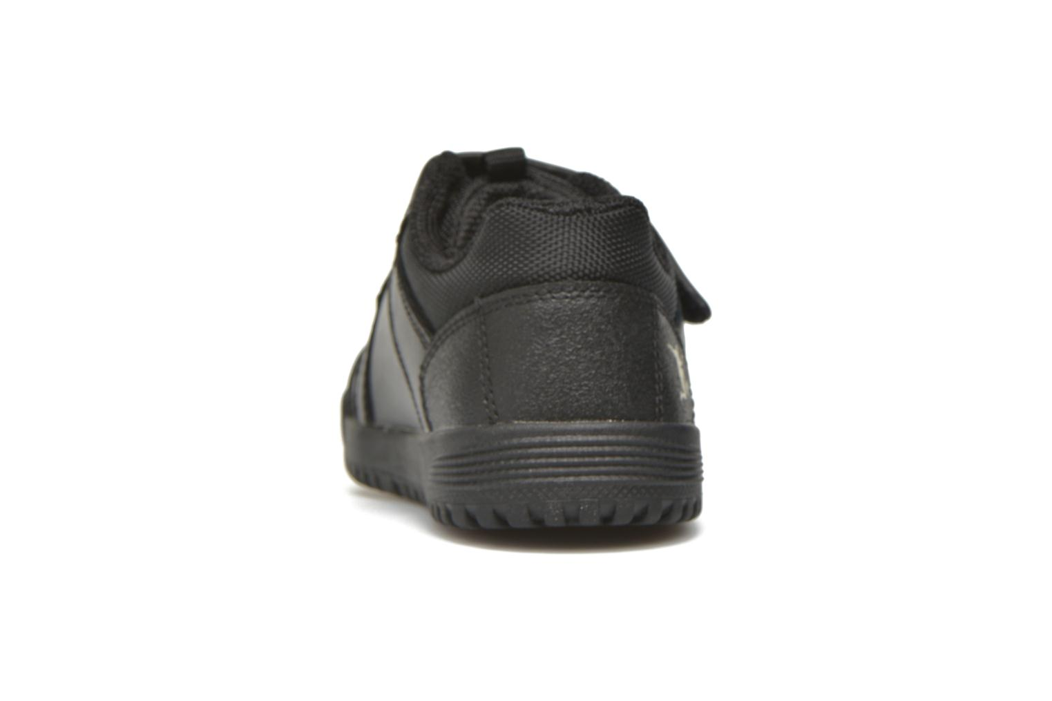 Zapatos con velcro Start Rite Cup Final Negro vista lateral derecha