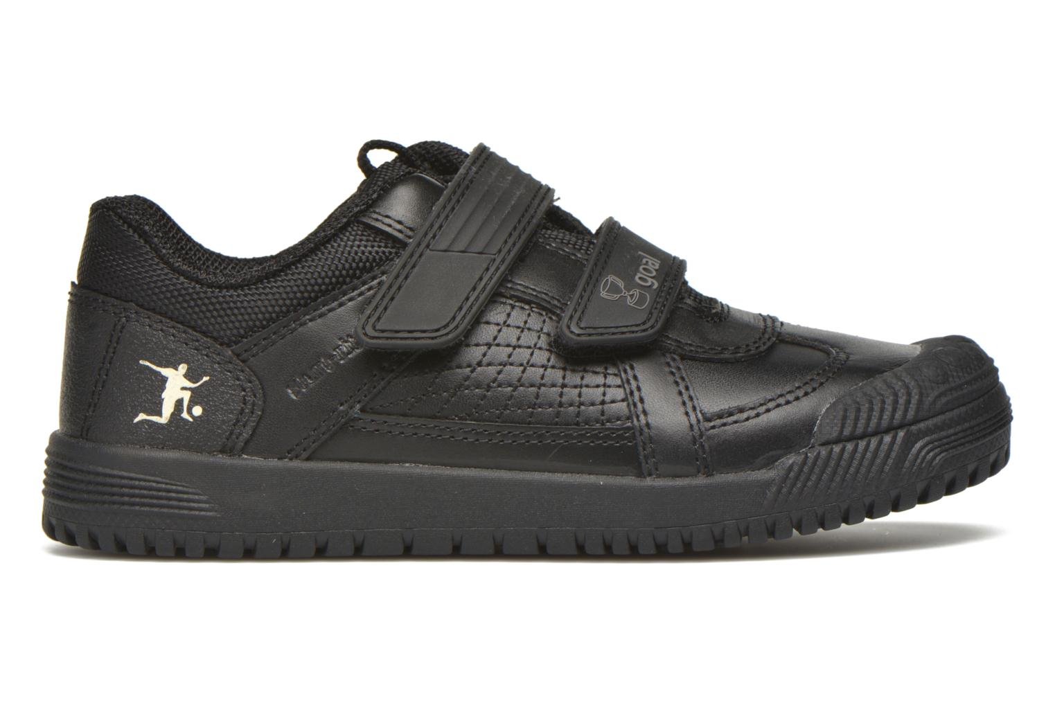 Zapatos con velcro Start Rite Cup Final Negro vistra trasera