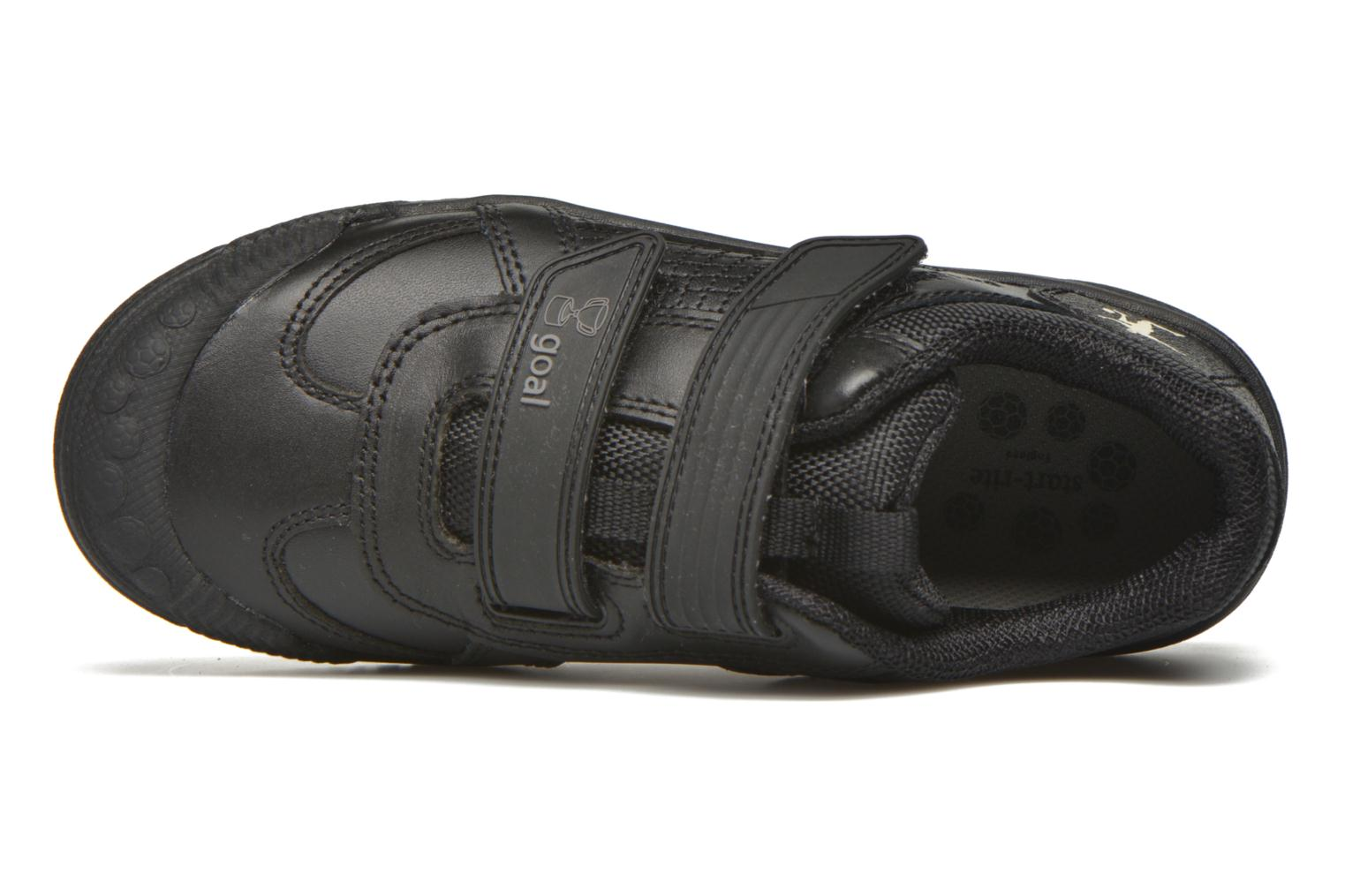Zapatos con velcro Start Rite Cup Final Negro vista lateral izquierda
