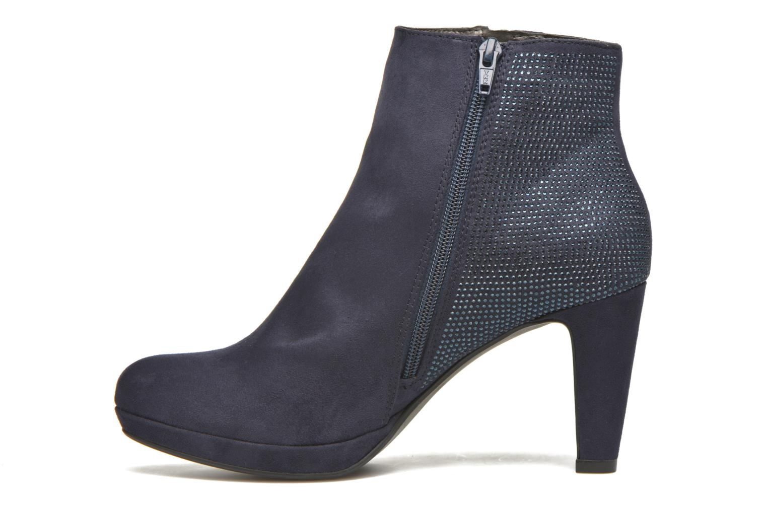 Bottines et boots Bugatti Haven Bootie Bleu vue face