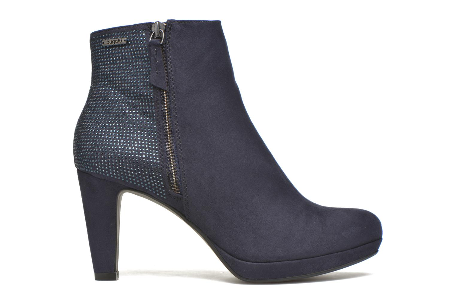 Ankle boots Bugatti Haven Bootie Blue back view