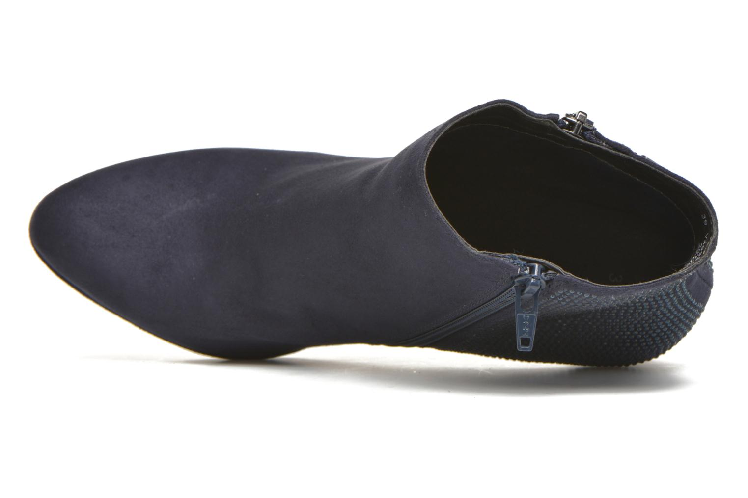 Ankle boots Bugatti Haven Bootie Blue view from the left