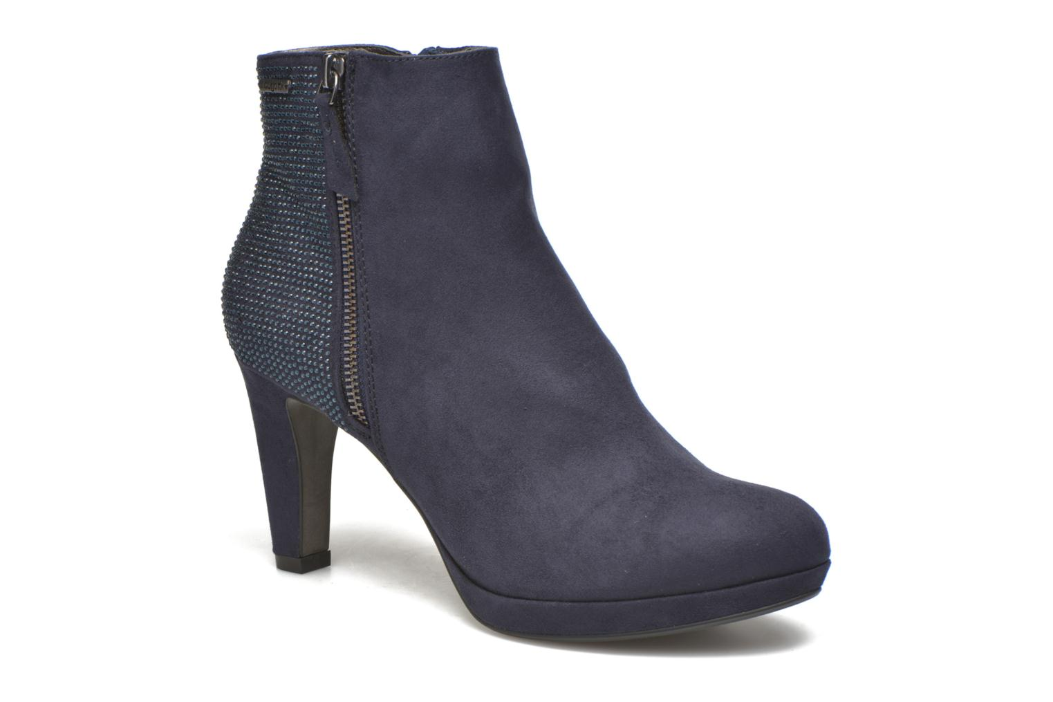 Ankle boots Bugatti Haven Bootie Blue detailed view/ Pair view