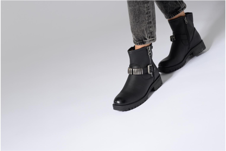 Stiefeletten & Boots Refresh Marion-62163 weinrot ansicht von unten / tasche getragen