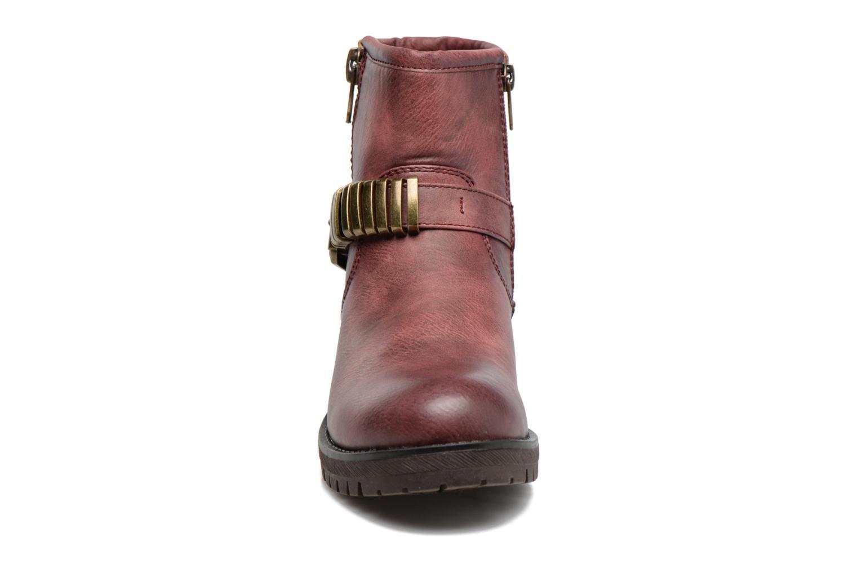 Bottines et boots Refresh Marion-62163 Bordeaux vue portées chaussures