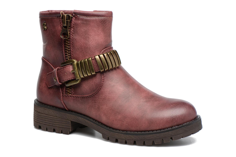 Bottines et boots Refresh Marion-62163 Bordeaux vue détail/paire