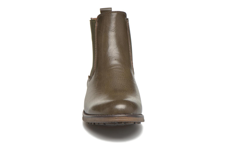 Bottines et boots Refresh Rain-61428 Beige vue portées chaussures