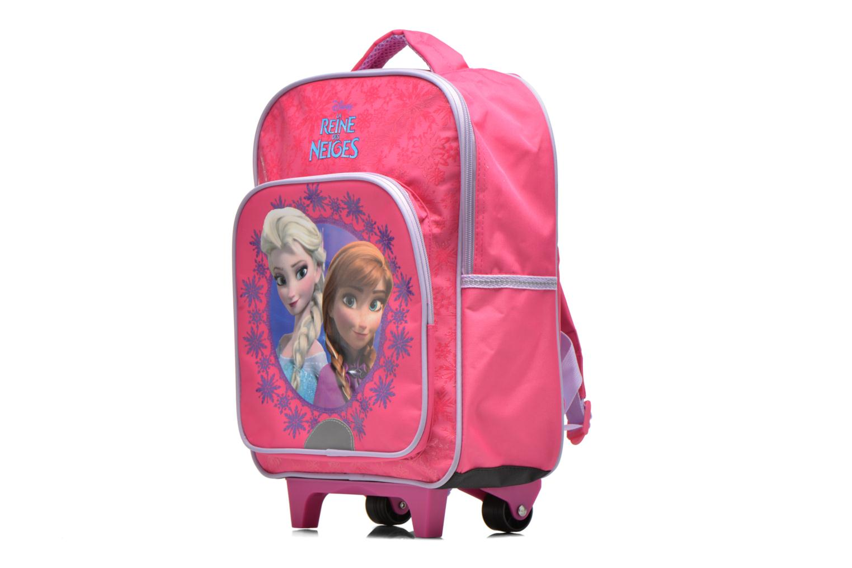 Rucksäcke Disney Sac à dos Trolley Reine des neiges rosa schuhe getragen