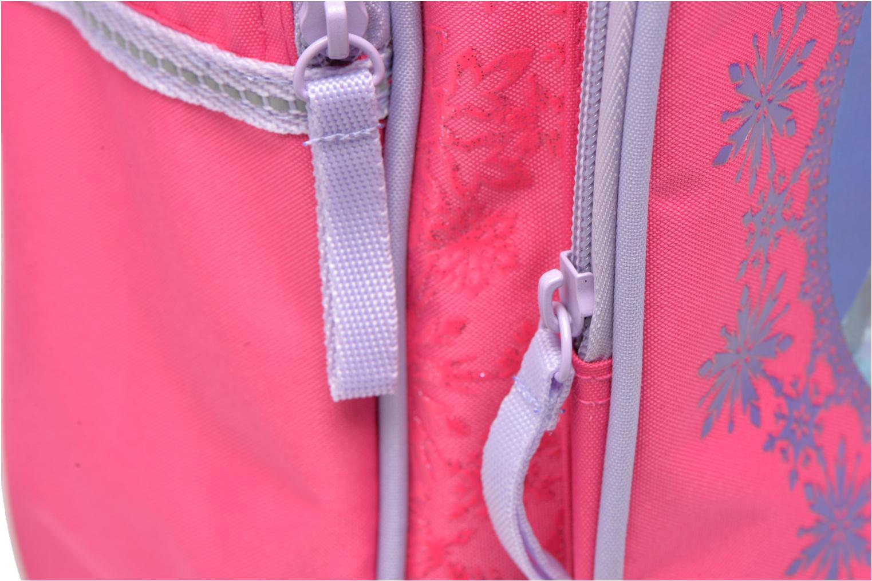 Rucksäcke Disney Sac à dos Trolley Reine des neiges rosa ansicht von links