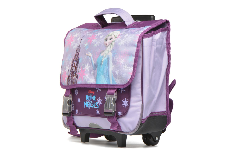 Schulzubehör Disney Cartable 38cm Trolley Reine des neiges lila schuhe getragen