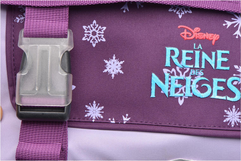 Scolaire Disney Cartable 38cm Trolley Reine des neiges Violet vue gauche
