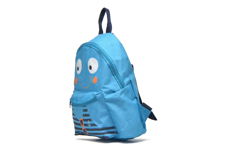 Rucksäcke Kid's Sac à dos Squid blau schuhe getragen