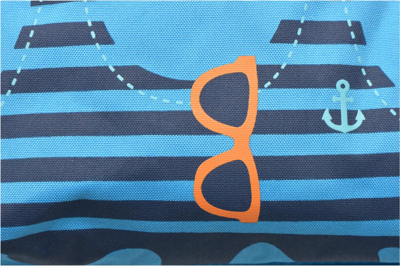 Rucksäcke Kid's Sac à dos Squid blau ansicht von links