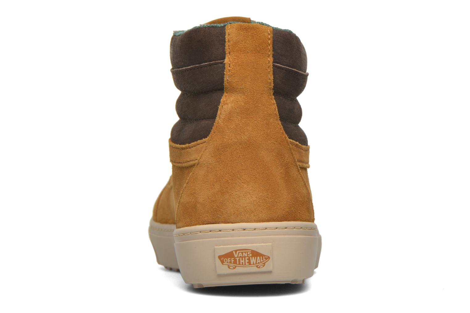 Trainers Vans Sk8-Hi MTE CUP Brown view from the right